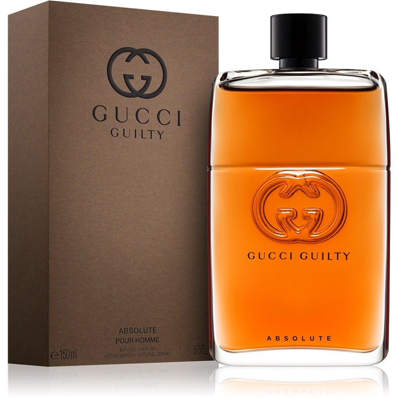 gucci guilty absolute pour homme edp 90ml just fragrance. Black Bedroom Furniture Sets. Home Design Ideas